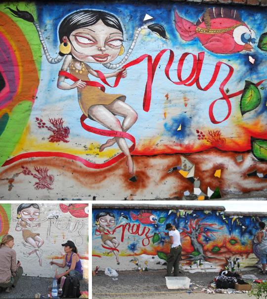 """""""Muro por la Paz"""""""