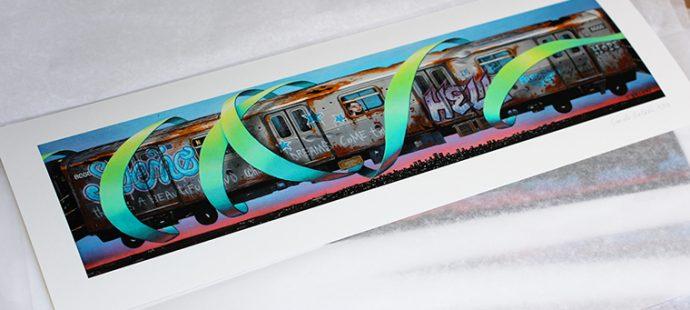 «Train», disponible en Tirage d'Art !