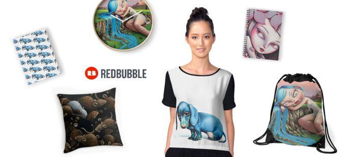 Nouvelle Boutique sur Redbubble.com !