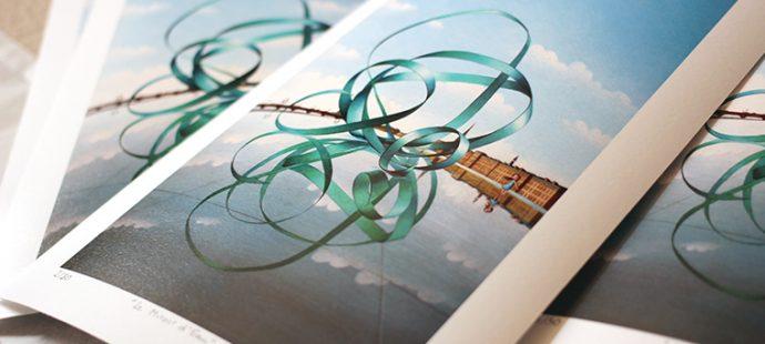 Nouveau, le «Miroir d'Eau» en tirages d'art !
