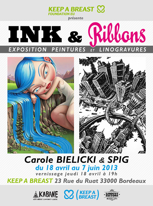 Ink &Ribbons – L'exposition
