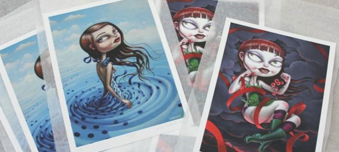 Nouveaux tirages d'Art disponibles