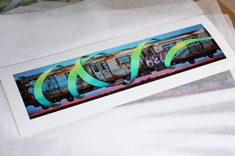 """Train"", disponible en Tirage d'Art !"