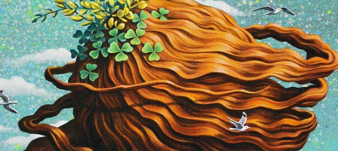 """La série """"Hairz"""". Deux nouvelles peintures."""